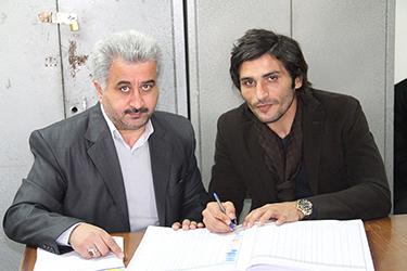 جواد كاظميان فوروارد تيم پرسپوليس تهران به تراكتورسازي پيوست