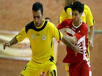 تیم فوتسال دبیری تبریز بازی را به حریف خود گیتی پسند واگذار کرد