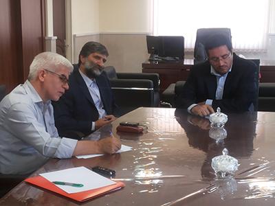 جلسه مسؤولین و متولیان ورزش و فوتبال استان تلاش در جهت تجدید نظر در خصوص رای کمیته استیناف در مورد تیم فوتبال مس سونگون
