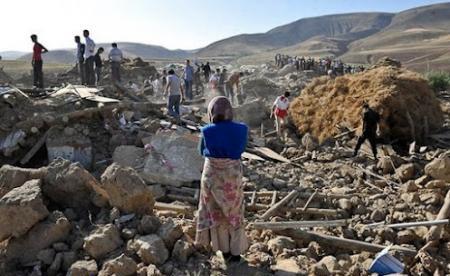 دیدار خیریه بمناسبت اولین سالگرد زلزله آذربایجان