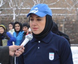 مریم ایراندوست سرمربی تیم ملی فوتبال ایران