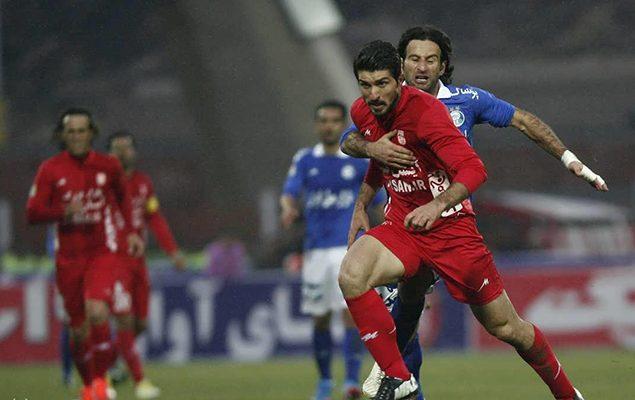 دیدار تیمهای استقلال و تراکتورسازی با برتری تیم تبریزی به پایان رسید