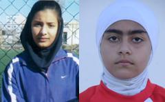 مهتا رحیم زاده و اسماء نظری در اردوی انتخابی تیم ملی فوتبال زیر 16 سال
