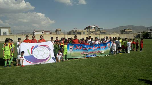 فستیوال مدارس فوتبال به میزبانی شهرستان مرند