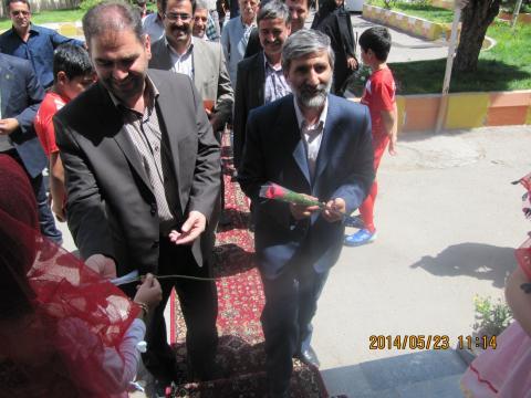 استقبال ازمسئولین هیات فوتبال استان آذربایجان شرقی ستودنی بود